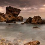 Sunset at Majjistral Nature and History Park, Malta