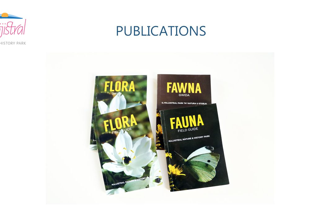 Flora and Fauna publications