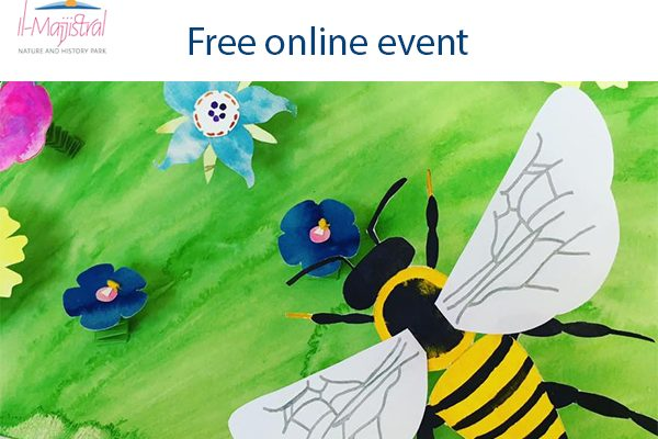Online Event Bee for Earth Day