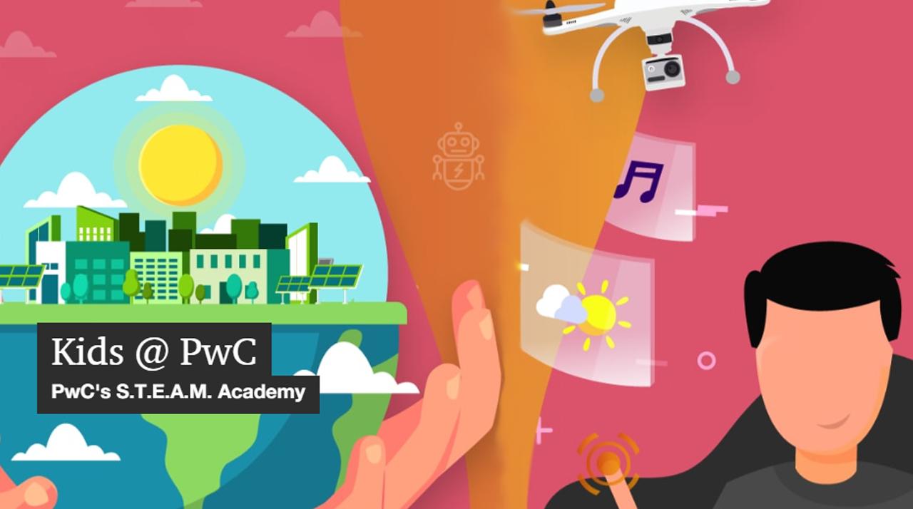 PwC Malta kids academy